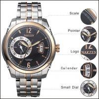 Steel Part PVD Rose Gold Coating Super Luminova Diamond Cut Hands Sapphire Crystal Luxury Wrist Watches