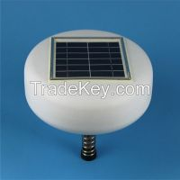 Energy saving mini environmental solar pool ionizer