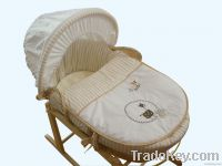 Easy Carry Baby Moses Basket for Newborn