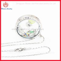 wholesale glass locket for womens