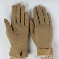 Ladies's warm soft winter spring autumn cashmere gloves