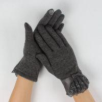 Fashion design smart phone gloves