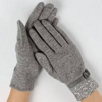 Ladies stylis cashmere gloves from China
