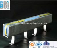 Stainless steel channel for cable application