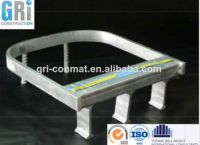 Steel channel for cable application