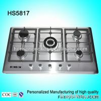 5 burners kitchen appliance Gas cooker HS5817