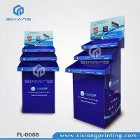Custom Design Durable Retail Store Cardboard Floor Display