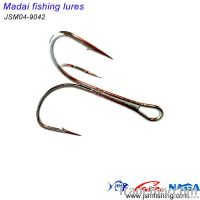 420 stainless steel treble fishing hook