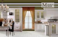 china modern kitchen cabinets with mdf, laminate, lacquer finish for condo, apartment, hotel, villa.