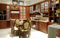 Custom solid wood kitchen