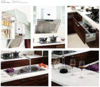 Blum hardware high quality PVC Kitchen cabinet