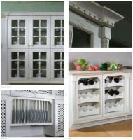 China solid wood classic hemlock kitchen furniture