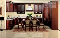 2014 star product solid wood kitchen cabinets