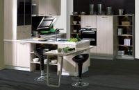 Mdf melamine door kitchen cabinet model