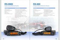 RS-9900 Quad Band Mobile Radio