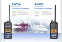 RS-35M IP-67 VHF Handheld Marine Radio
