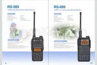 RS-589 10W Dual Band Handheld Radio