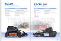 RS-9800 Dual Band Mobile Radio