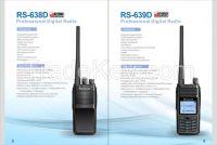 RS-639D Dual Band dPMR Digital Radio