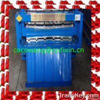 color steel roof sheet roll forming machine