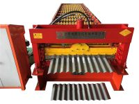 dixin corrugated iron roofing sheet roll forming machine roof tile making hot sale