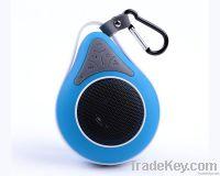 water drop shape IPX7 waterproof Bluetooth speaker