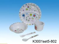 melamine children sets