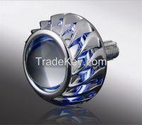 35W Bi-xenon projector lens LED angel eyes  motorcycle headlamps H1 H4 h7 4300k 6000K 8000K