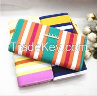 factor price pu leather wallets and purses female handbag