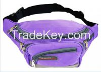 factory price nylon fabric waist bags