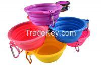 pet supplies pet travel bowl