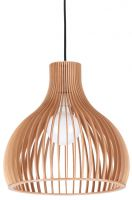 Simple Wood Pendant Lamp LBMP-HM230