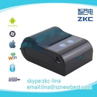 Supply 58mm android bluetooth printer,mini mobile printer with android ,smart android bluetooth printer support IOS and Android
