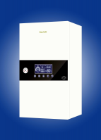 Electric boiler for home heating system