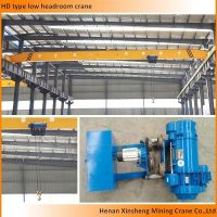 single girder overhead bridge crane