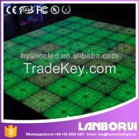 Make Star light dance floor,RGB led stage light disco light dance floor,led dance floor panels for sale