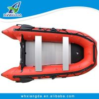 China CE Certificate foldable inflatable fishing  tender
