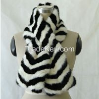 mink fur short scarf