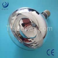 infrared heating lamps with hard glass