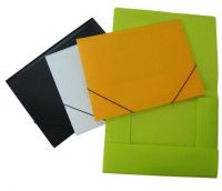 3 Cover Folder With Elastic Strap (F2018)