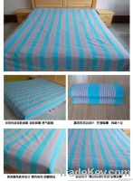 Pure cotton bed sheets, double bed, thickened,