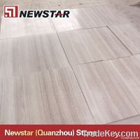 Newstar white wooden marble slabs