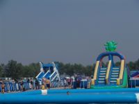 Giant Adults And Kits Inflatable Water Slide Pool for Funny Amusement Games