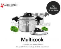 AltenBach Multicook_for use of slow cooker, steamer, pressure cooker etc.
