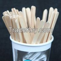 wooden coffee/tea stirrers sticks