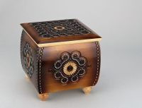 High carved box
