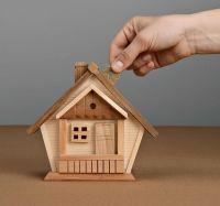 "Wooden money-box ""House"""
