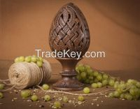 Interior ceramic egg on the stand