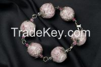 Bracelet Made of Polymer Clay