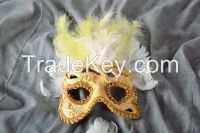 Carnival mask made of papier-mache